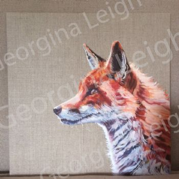 Original Oil Painting of 'Fox'